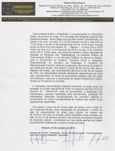 Edital Eleicao 2014